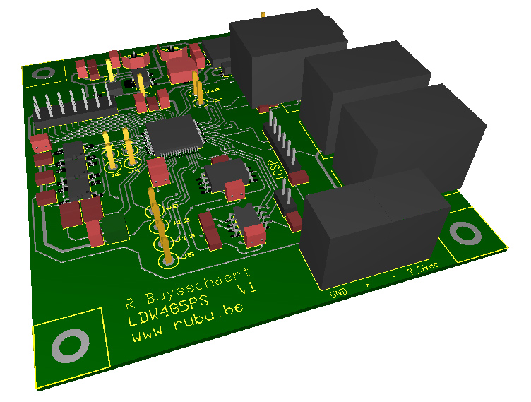 3D view embedded webserver